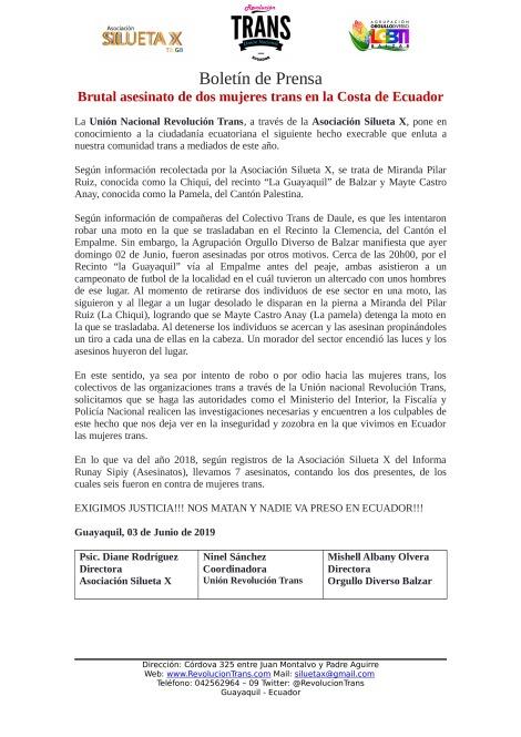 Boletn-de-Prensa---Brutal-asesinato-de-dos-mujeres-trans-en-la-Costa-de-Ecuador---Unin-nacional-revolucin-Trans-Ecuador
