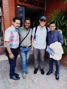Asociación Silueta X y Trans masculinos Ecuador se reunecon el Relator Especial en Salud física y mental Dainus Puras (3)