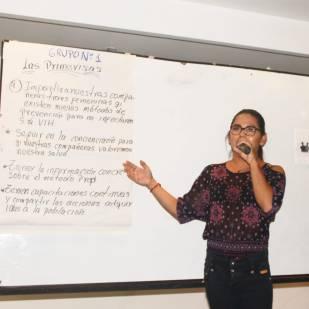 Taller de Prevención Combinada del VIH realizado por Kimirina y apoyado por la Asociación Silueta X Trans en Quito (21)