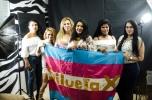miembros de la Asociación Silueta X transfemeninas - transgeneros - transexual ecuador