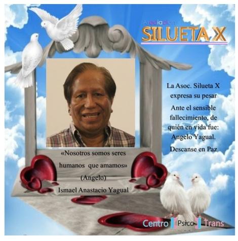 Fallecimiento Angelo Yagual - Asociación Silueta X